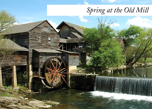 Old Mill Restaurant Pigeon Forge,TN. Campground Creekside RV Park  RV Park Pigeon Forge