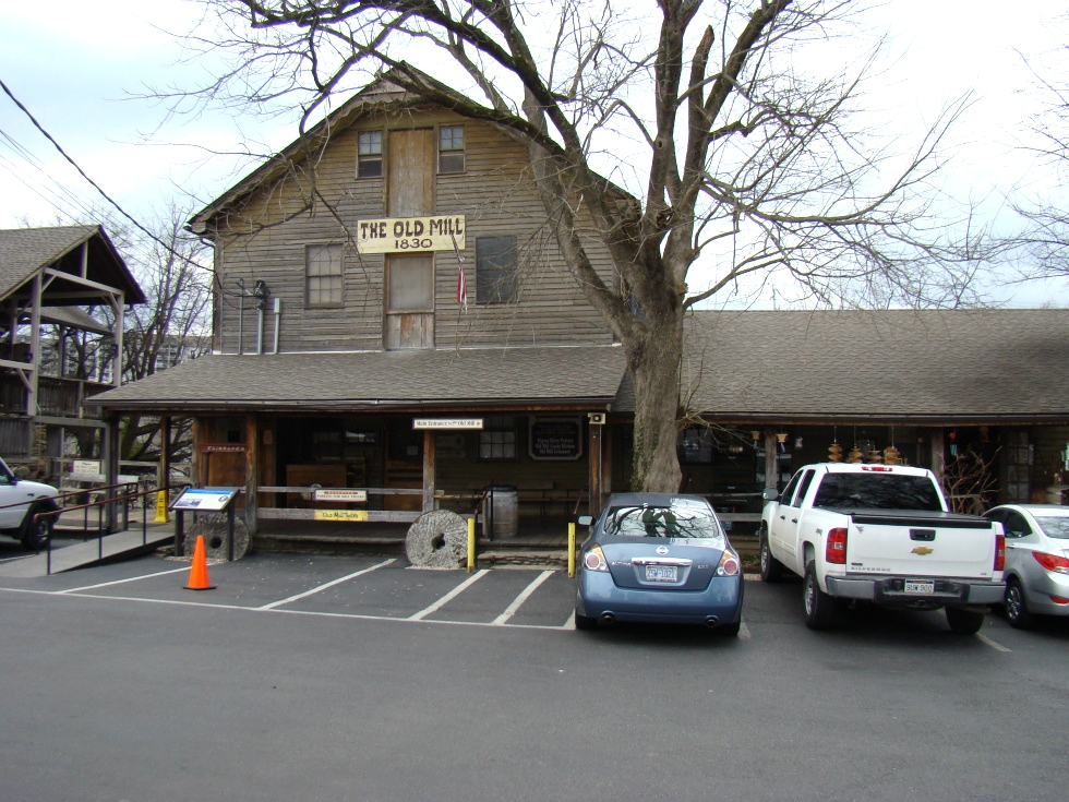 Rv Park Pigeon Forge Old Mill Restaurant Pigeon Forge Tn