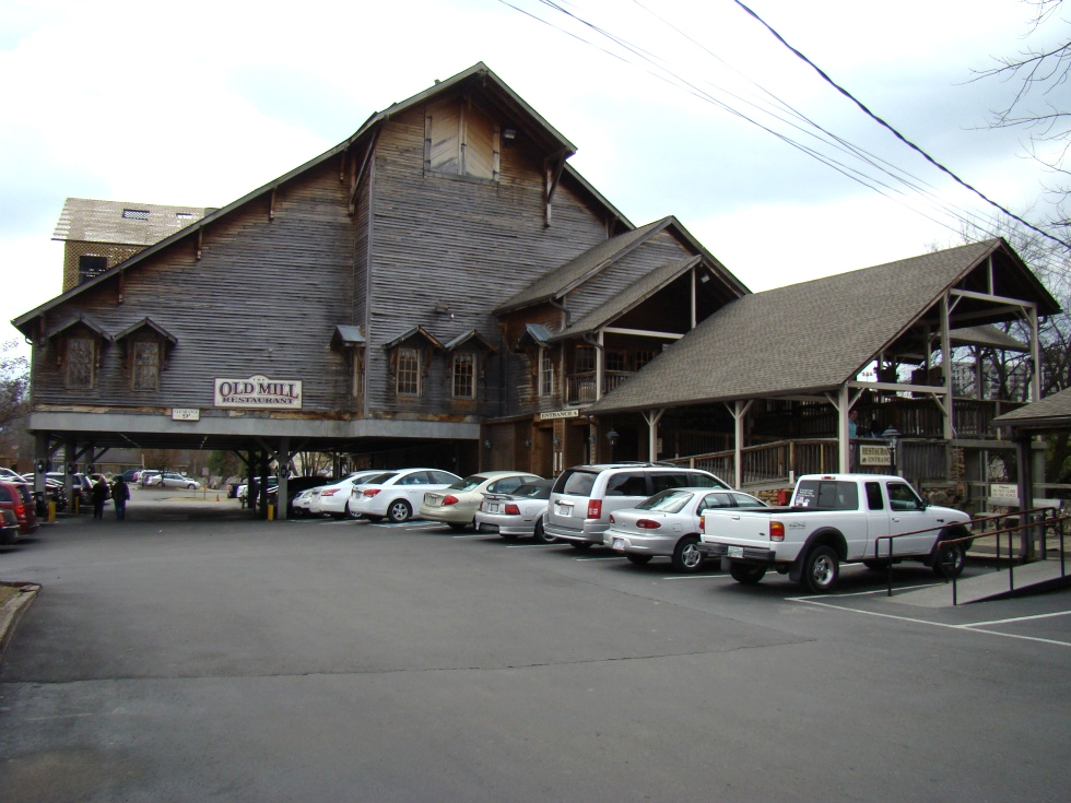 Old Mill Restaurant Pigeon Forge Tn Campground Creekside Rv Park