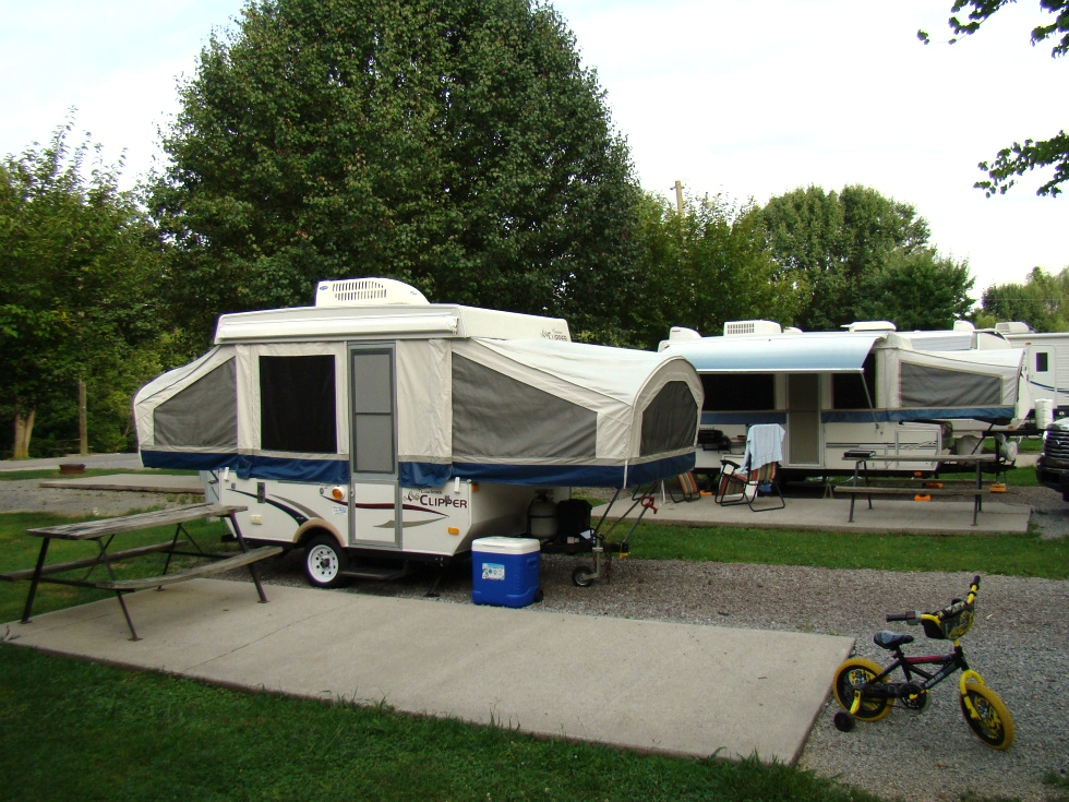 campgrounds near pigeon forge tn