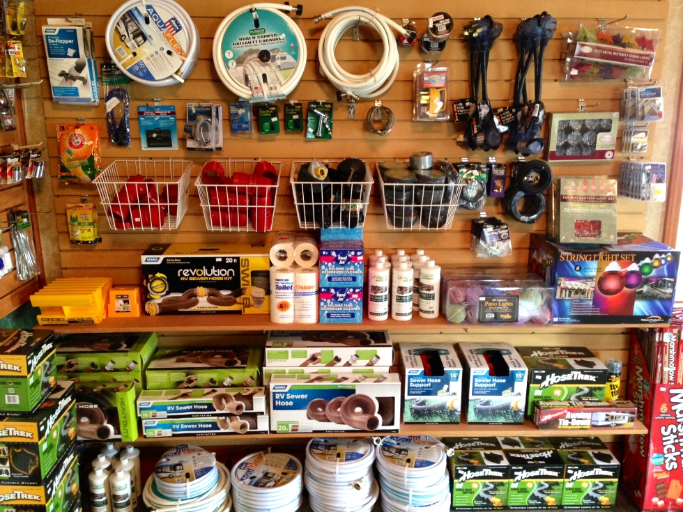 Store Items for sale RV Park Pigeon Forge